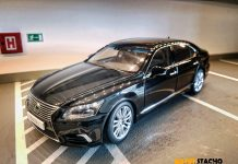 2013 Lexus LS 600HL black 1:18 AUTOart