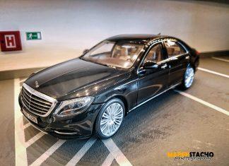 2014 Mercedes-Benz S-CLASS S550 BLACK 1:18 NOREV