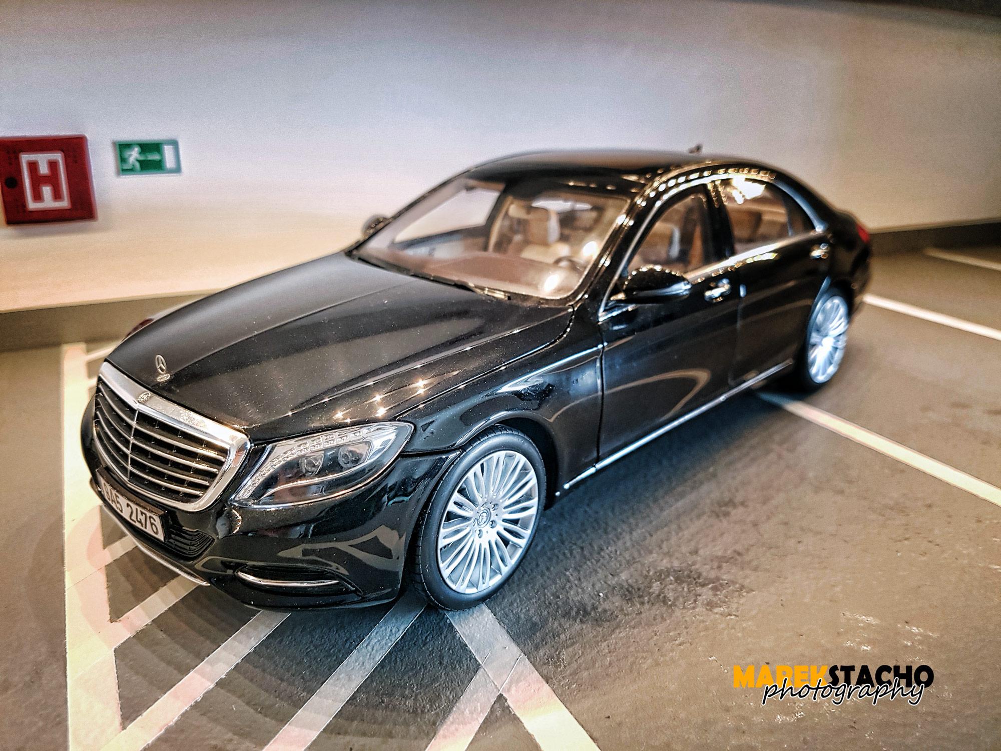 2014 mercedes benz s class s550 black 118 norev - Mercedes Benz 2014 S Class Black